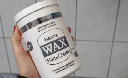 wax wax henna maska odżywka na porost włosów