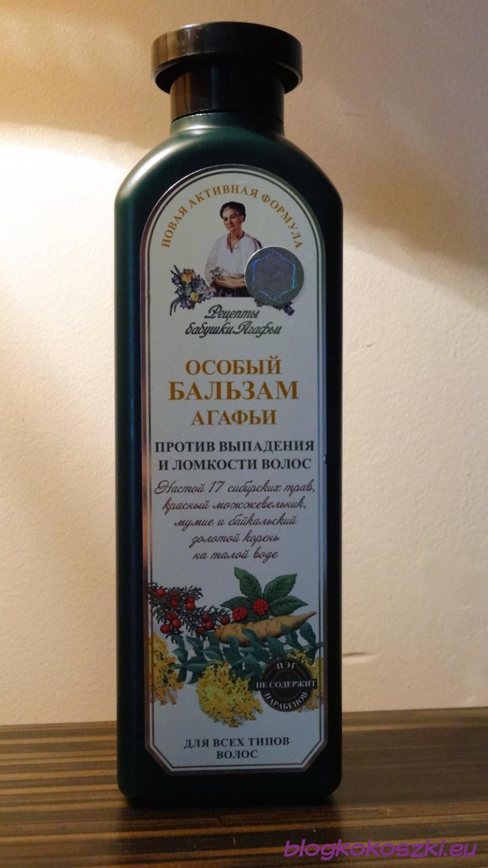 naturalny ziołowy lotion przeciw wypadaniu włosów receptury babuszki agafii