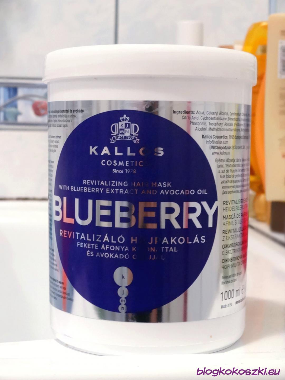Genialny Maska Kallos Blueberry - jagogowy ulubieniec Kokoszki CZ29